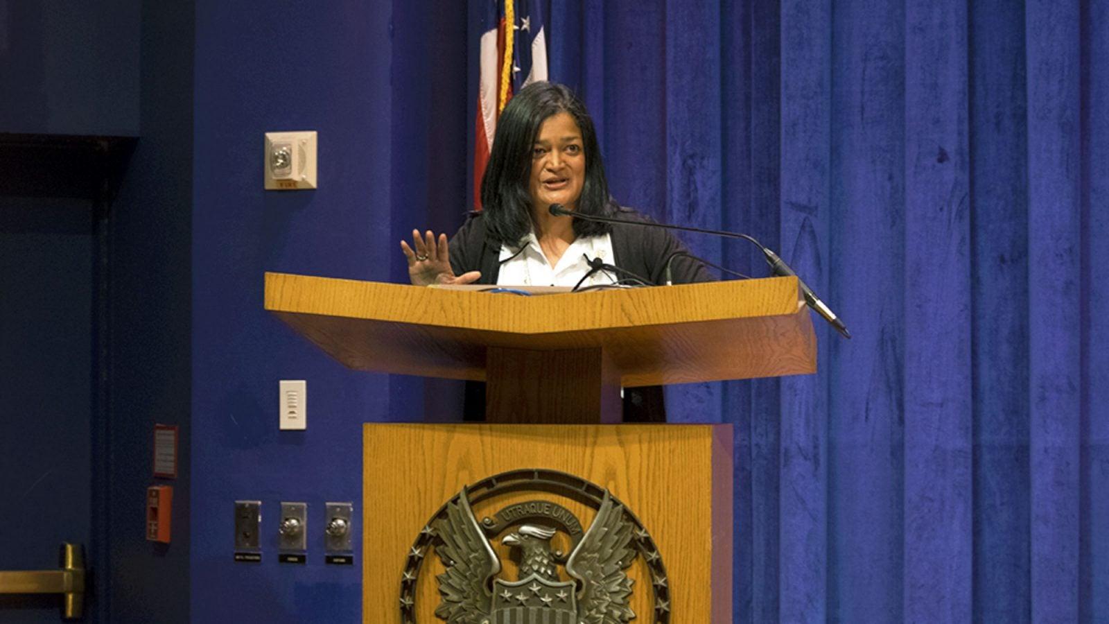 Congresswoman Pramila Jayapal (D-WA)
