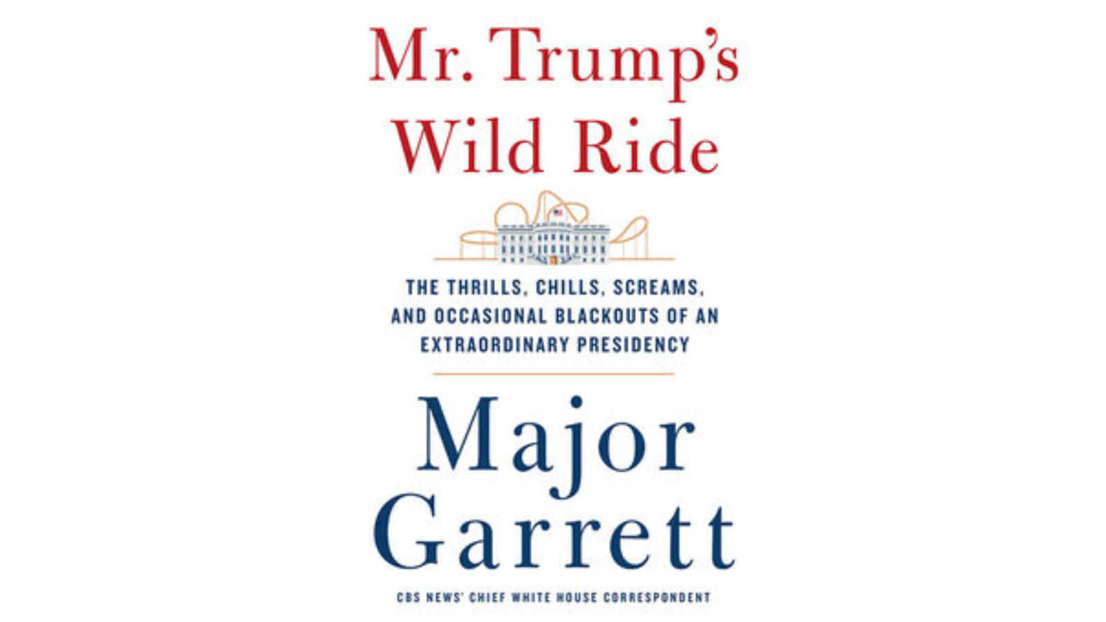 Mr. Trump's Wild Ride: Bookcover