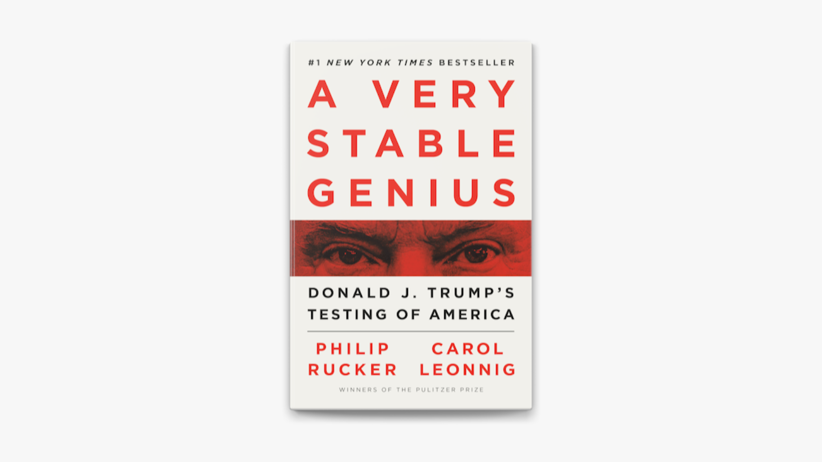 A Very Stable Genius - bookcover