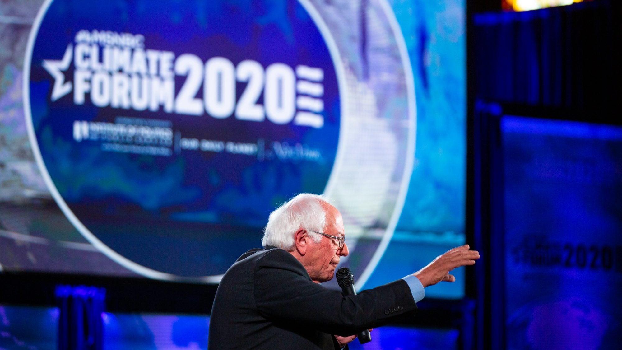 Climate Forum - Bernie Sanders