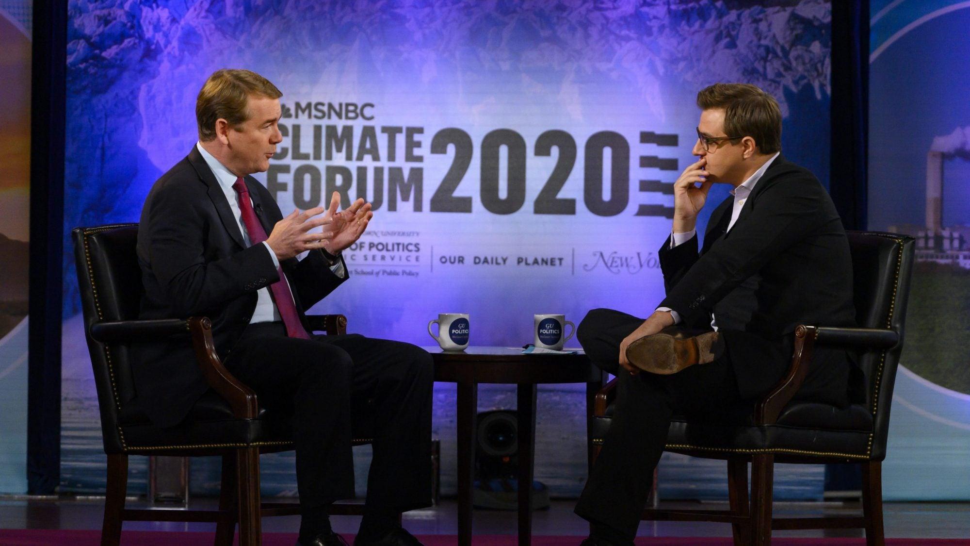 Climate Forum - Michael Bennet