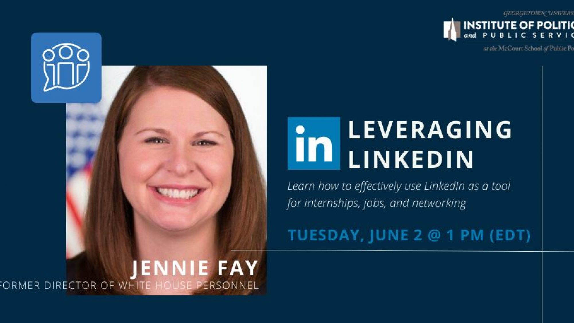 Leveraging LinkedIn sessions with Jenny Faye