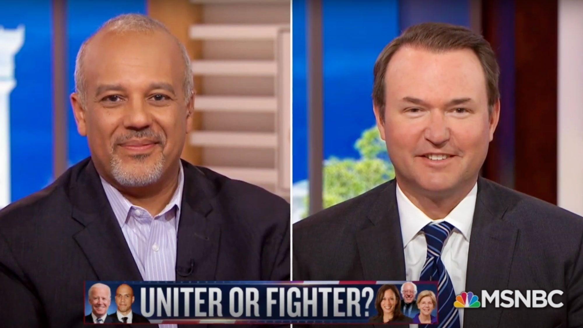 GU Politics Executive Director Mo Elleithee sat down with MSNBC's Chris Matthews and former Fellow Michael Steel