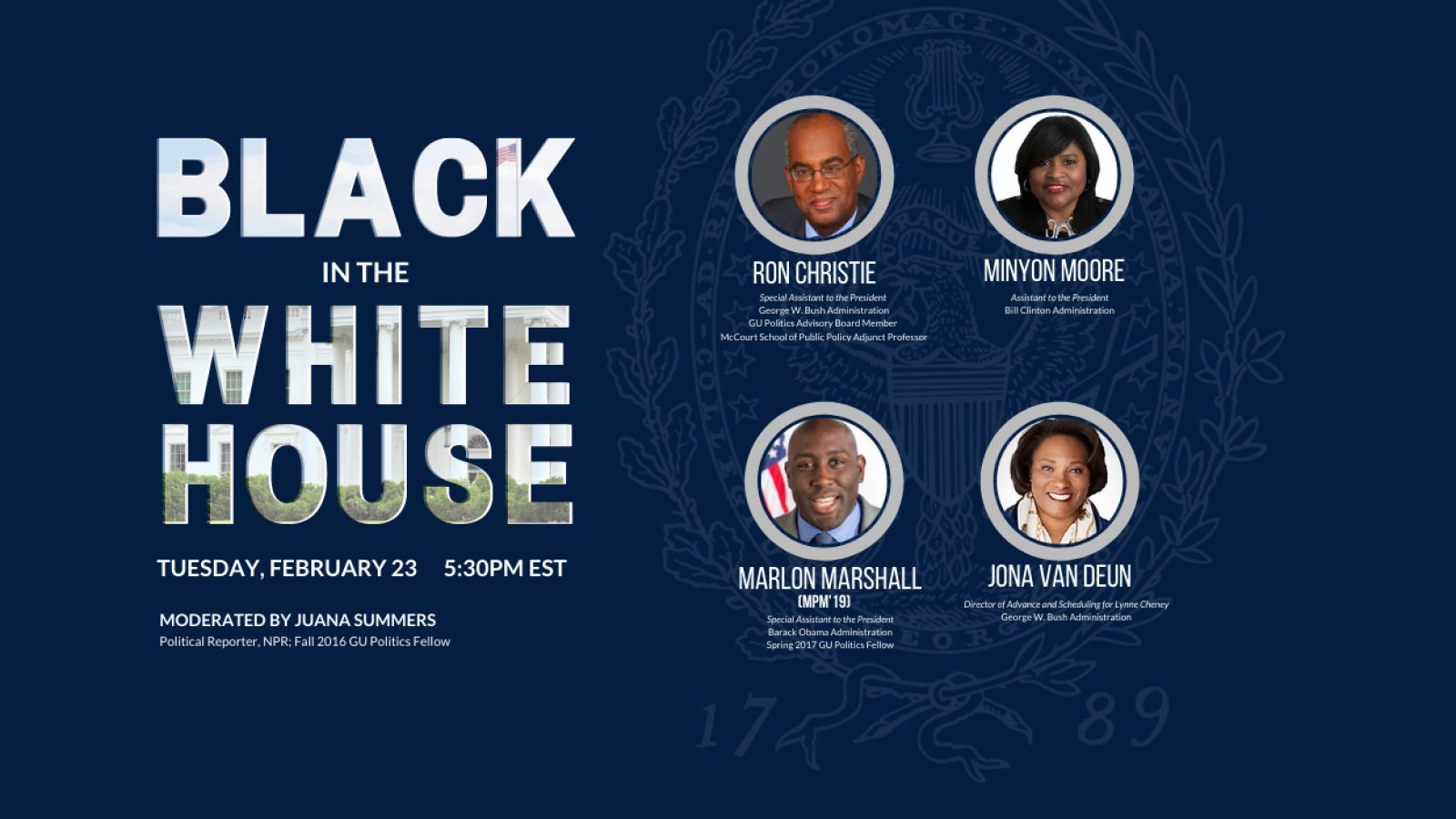 Black in the White House event on February 23, 2021